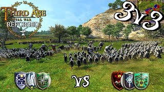 Download -BATTLE OF WITS- Third Age: Reforged 3v3 Team Battle Video