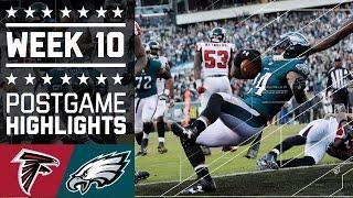 Download Falcons vs. Eagles   NFL Week 10 Game Highlights Video