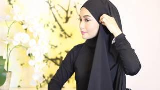 Download Sufyaa Hijab Tutorial, Basic Drape with Chiffon Shawl Video