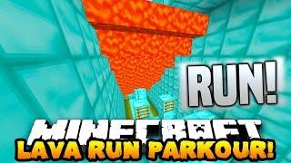 Download Minecraft SUPER LAVA RUN! (PARKOUR FROM LAVA!) w/PrestonPlayz, Lachlan & MrWoofless Video