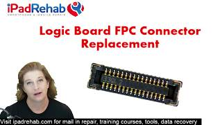 Download How to replace any iPhone logic board connector Video