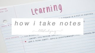 Download how i take notes Video
