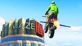 Download LAND ON MAZEBANK CHALLENGE! (GTA 5 Funny Moments) Video