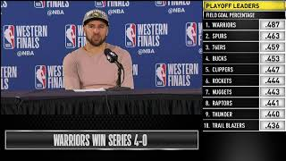Download Klay Thompson Press Conference | Western Conference Finals Game 4 Video