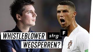 Download Leaks zu Ronaldo, Bayern München & Co: Treffen mit dem Football Leaks-Informanten | STRG F Video