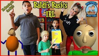 Download BALDI'S BASICS IN REAL LIFE | DEION'S PLAYTIME Video