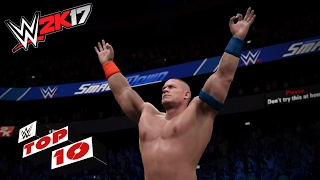 Download Stupefying Super Maneuvers!: WWE 2K17 Top 10 Video