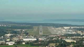 Download COCKPIT VIEW OF APPROACH AND LANDING AT GENEVA COINTRIN AIRPORT RWY 05 Video