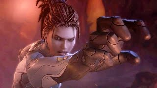 Download Domination: Kerrigan Subdues Zagara Broodmother on Char (Starcraft 2: Heart of the Swarm) Video