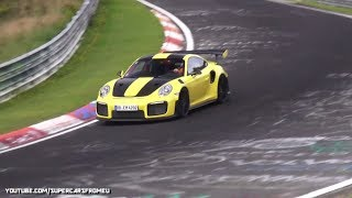 Download 2018 Porsche GT2 RS going FAST on the Nurburgring,Nordschleife!! Video