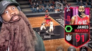 Download 91 COUNTDOWN JAMES HARDEN IS A BEAST! NBA Live Mobile 16 Gameplay Ep. 36 Video