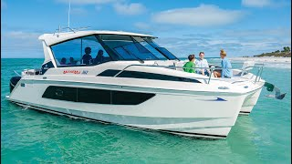 Download Tour the All-New MarineMax Vacations 362 Power Catamaran Video