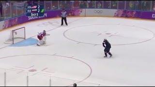 Download TJ Oshie Olympic Shootout (NBC English) Video