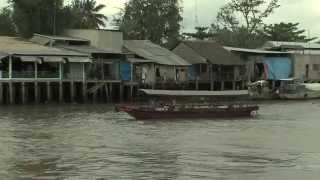 Download Life on the Mekong River, Vietnam. Video
