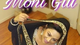 Download How to drape dupatta (Chunni) Punjabi Style covering your head. Video