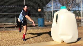 Download Throwing Baseballs At Random Objects! *HUGE MESS* IRL Challenge Video