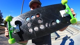 Download WILL THE 3D PRINTED SKATEBOARD BREAK? Video