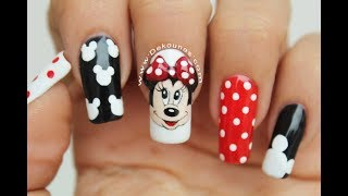 Download Diseño de uñas Minnie y Mickey Mouse - Minnie and Mickey mouse nail art Video