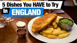 Download British Food Tour - 5 Dishes You HAVE to Try in England! (Americans try British food) Video