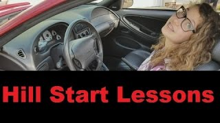 Download Teaching how to start on a hill with a manual shift vehicle Video