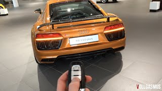 Download Audi R8 V10 Plus: In Depth, Interior, LED Lights, Virtual Cockpit and more Video