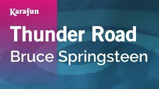 Download Karaoke Thunder Road - Bruce Springsteen * Video