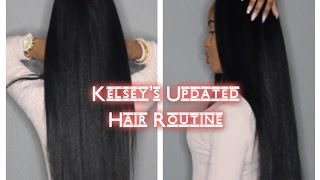 Download Kelsey's Updated Hair Routine Video