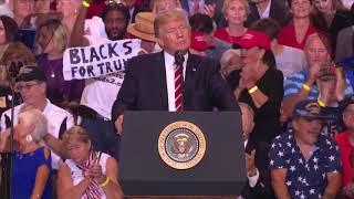 Download Trump's turbulent Phoenix rally, in 3 minutes Video