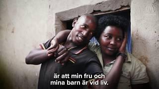 Download Pappa Valens försörjer sin familj i flyktinglägret i Uganda Video