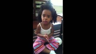 Download My 3 year old tries to get out of trouble by telling stories with Tiffany Sims Video