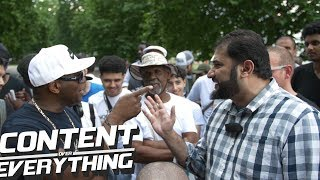 Download Adnan Rashid Accuses Gary of Being a Racist / Gary and Adnan Have a Cussing Match |Speakers Corner Video