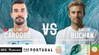 Download Willian Cardoso vs. Adrian Buchan - Round Three, Heat 11 - MEO Rip Curl Pro Portugal 2018 Video