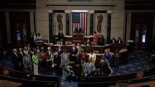 Download US House Democrats stage sit-in to demand action on guns Video