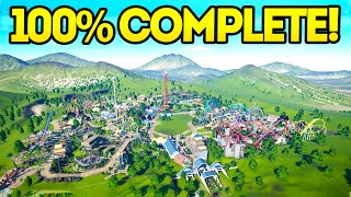 Download Planet Coaster Creations : THE 100% COMPLETED PARK!! Video