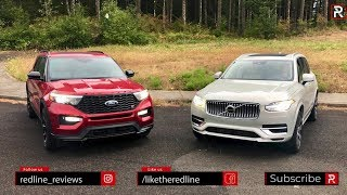 Download The 2020 Ford Explorer ST & Volvo XC90 T8 Are Both 400 HP Family Haulers – Ft. AlexOnAutos Video