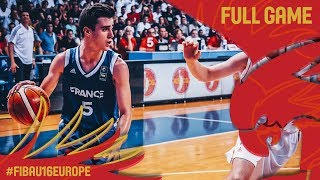 Download Montenegro v France - Full Game - Final - FIBA U16 European Championship 2017 Video