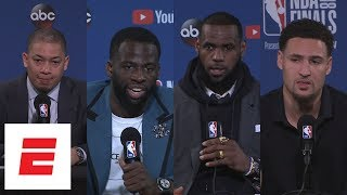 Download Cavaliers and Warriors react to Steph Curry's 9 3-pointers in Game 2 of 2018 NBA Finals | ESPN Video