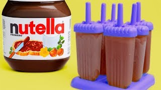 Download 18 Simple Tricks and Ideas with Nutella Video