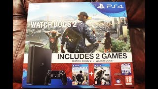 Download Is it any good? watch dogs 2 with PS4 console unboxing Video