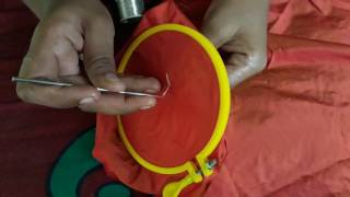 Download Basic stitch in Aari /maggam embroidery Video