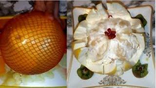 Download Ինպե՞ս կտրել պոմելոն/Как разрезать памело?/How to cut a pomelo? Video