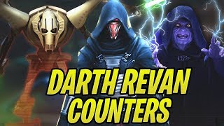 Download Emperor Palpatine + Vader Counter Darth Revan! General Grievous the Sith Slayer! | Galaxy of Heroes Video