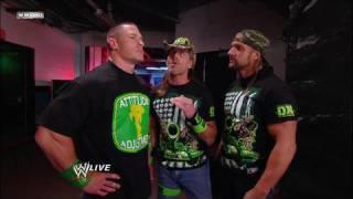 Download John Cena and DX talk backstage Video
