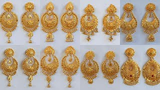Download PURE GOLD CHANDBALI- EARRINGS DESIGNS WITH WEIGHT AND PRICE Video