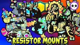 Download EVERY RESISTOR MOUNT IN TROVE HEROES! Video