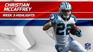 Download Christian McCaffrey's 9 Catches & 101 Yards! | Saints vs. Panthers | Wk 3 Player Highlights Video