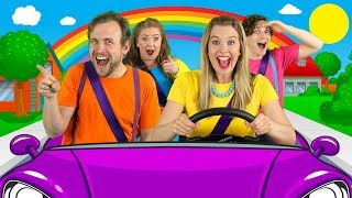 Download Let's Drive - Driving In My Car Song | Nursery Rhymes and Songs for Children Video
