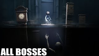 Download Little Nightmares DLC - All Bosses (With Cutscenes) HD 1080p60 PC Video