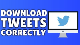 Download How To Download Tweets On Twitter | 2015 Video