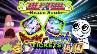 Download 😘🍀Finallyyyyy!!!! Ordeals Ticket + All My Tickets, My Dream Is Real Bleach Brave Souls 🍀 Video